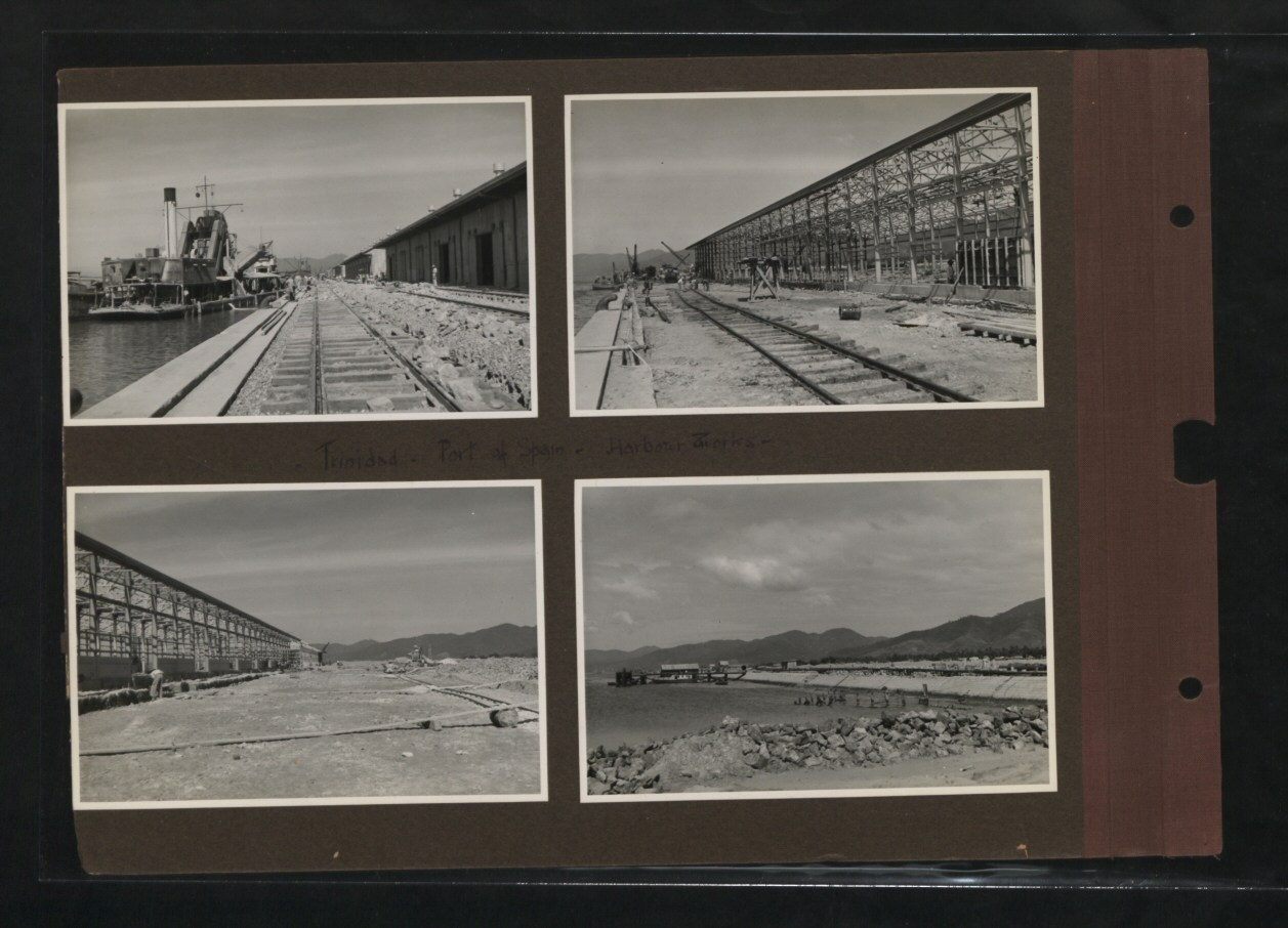 Port of Spain, Trinidad, Harbour Works, 1939